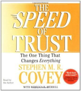 The Speed of Trust Audio CD